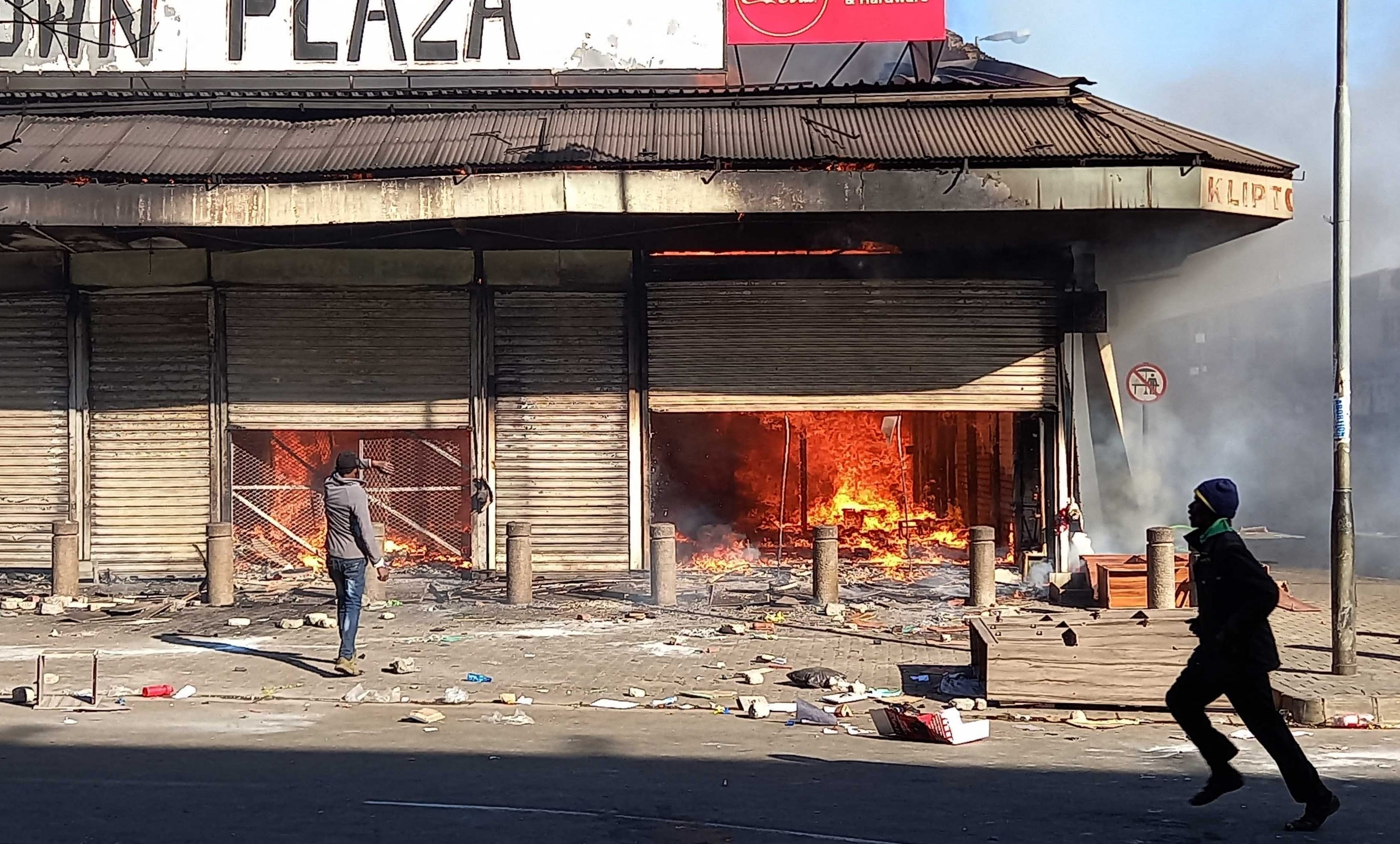 Riots Reveal South Africa's Enduring Rifts