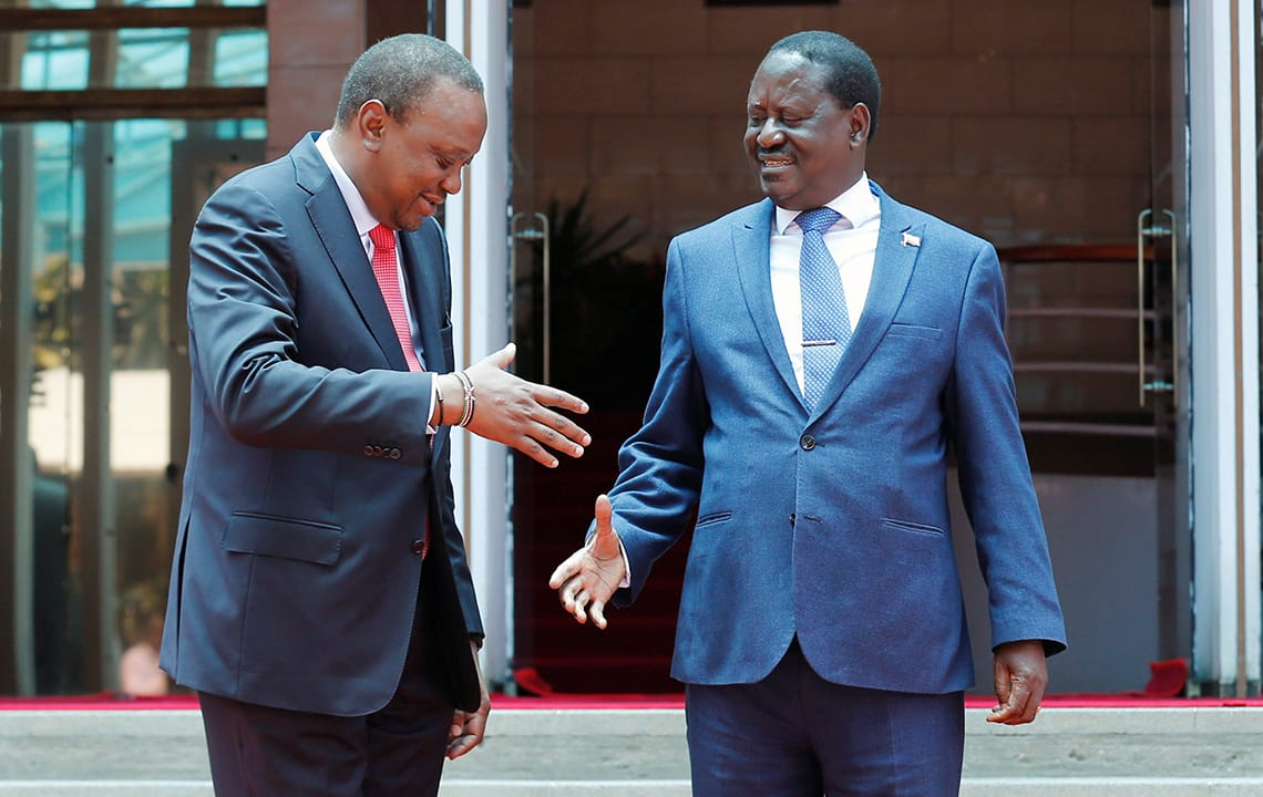 Fine After Kenyas Leaders Reconcile A Tough Path Ahead Crisis Beutiful Home Inspiration Ommitmahrainfo