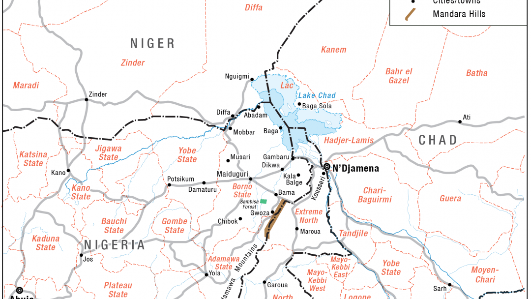 Lake Chad On Map Of Africa.Fighting Boko Haram In Chad Beyond Military Measures