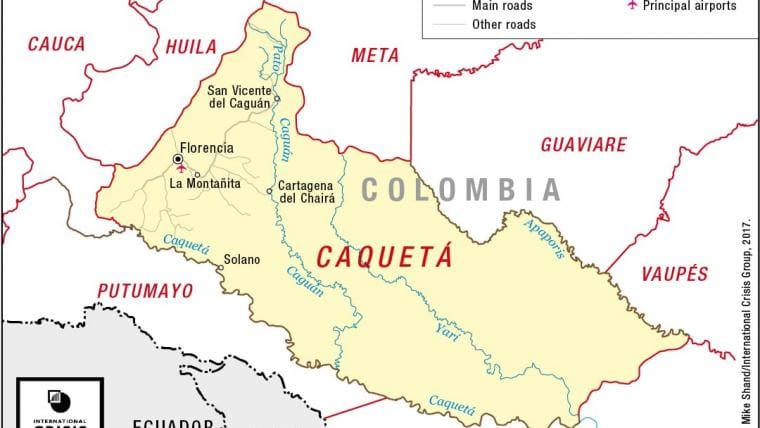 Colombia Peace At Last Crisis Group - Road map of colombia 2006