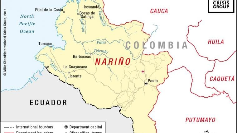 Colombias Armed Groups Battle For The Spoils Of Peace Crisis Group - Road map of colombia 2006