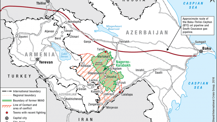 Nagorno Karabakh S Gathering War Clouds Crisis Group