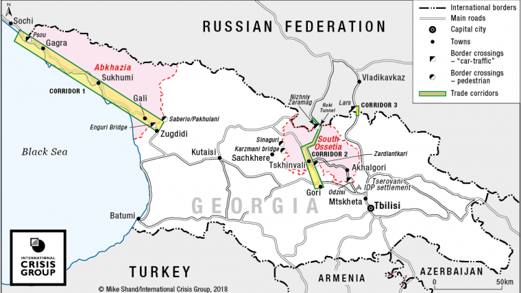 Abkhazia and South Ossetia: Time to Talk Trade | Crisis Group on