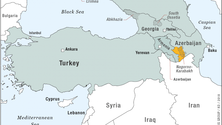 Russia and Turkey in the Black Sea and the South Caucasus   Crisis on
