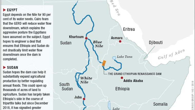 Bridging the Gap in the Nile Waters Dispute | Crisis Group