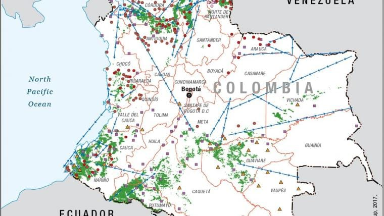 Colombia's Armed Groups Battle for the Spoils of Peace