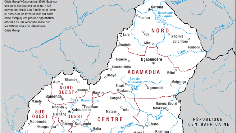 Cameroons Anglophone Crisis At The Crossroads Crisis Group - Cameroon language map