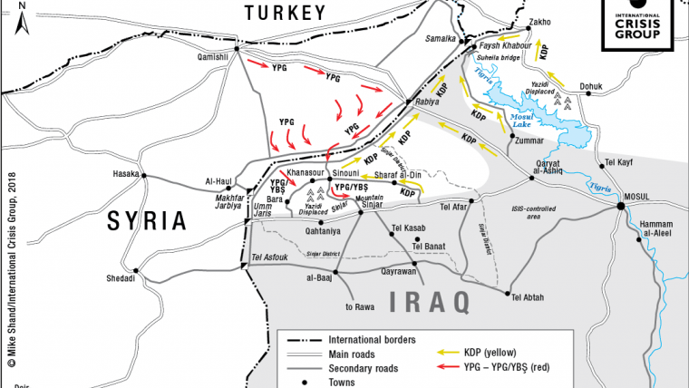 Winning the Post-ISIS Battle for Iraq in Sinjar | Crisis Group