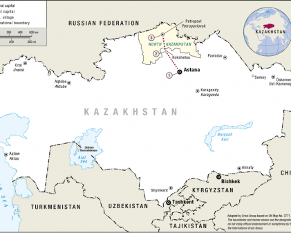 Russian Speakers of the Kazakh Steppe Crisis Group