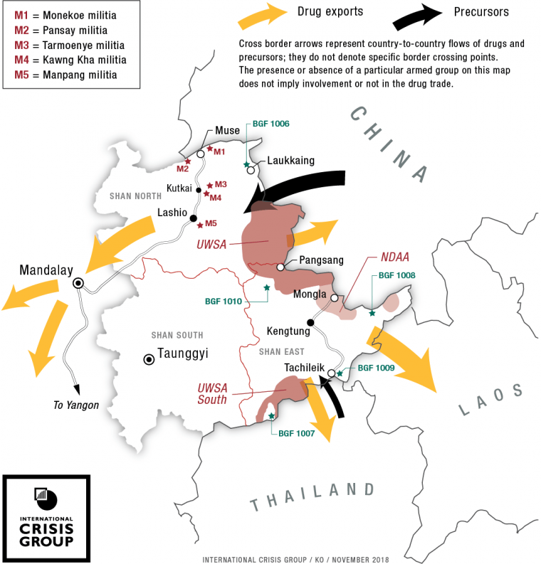 Fire and Ice: Conflict and Drugs in Myanmar's Shan State | Crisis Group